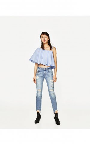 Zara Jeans, Gr. 32, neu