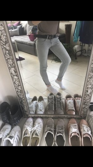 Zara Jeans skinny grigio chiaro