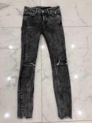 Zara Tube Jeans grey