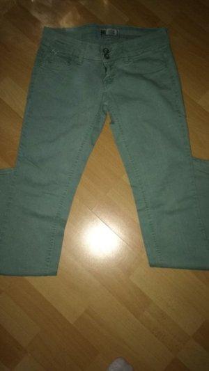 Zara Jeans Gr 38 Länge 34 mintgrün neuwertig