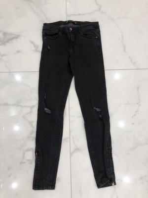 Zara Tube Jeans black