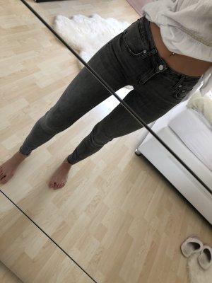 Zara Jeans grau