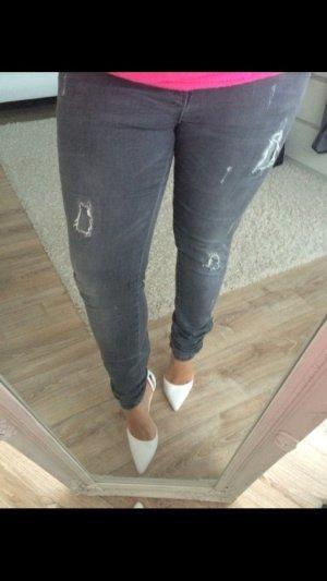 Zara Jeans grau usedlook