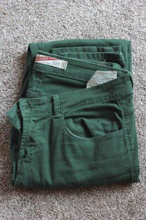 Zara Jeans, grüne Jeans, blogger