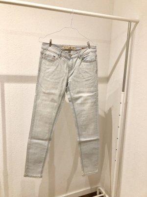 Zara Trafaluc Low Rise jeans lichtblauw