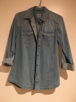 Zara Jeans Hemd Gr.S