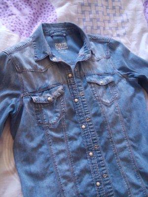 Zara Jeans Hemd, größe S