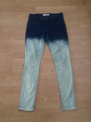 """Zara Jeans im """"Dip dye"""" Look Größe 36"""