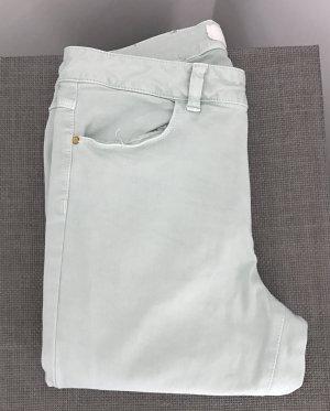 ZARA Jeans in Mintfarbe, Gr. 38