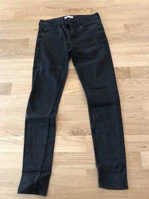ZARA Jeans in Schwarz, Gr. 36