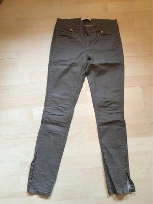 Zara Jeans Khaki Beschichtet