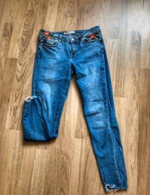 Zara Basic Skinny jeans blauw