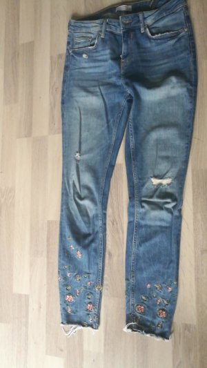 Zara Slim Jeans multicolored