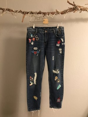 Zara Jeans mit Patches,36