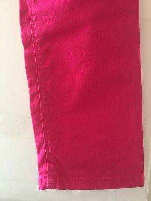 Zara Basic Vaquero rojo frambuesa-magenta