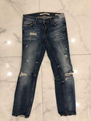 Zara Boyfriend jeans blauw