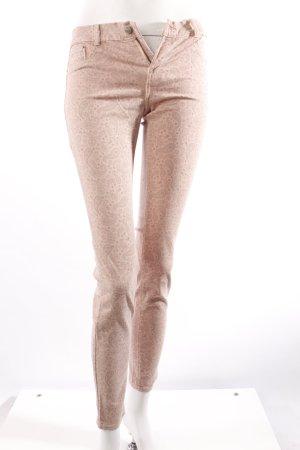 Zara Jeans rosa gemustert