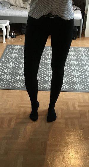 Zara Jeans schwarz Röhre gr. 36 Blogger
