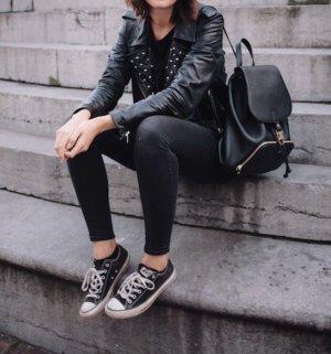 zara jeans skinny black schwarz elegant festlich