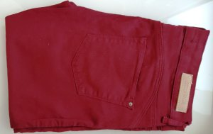 Zara Jeans, Stretch-Treggings, Bordeaux, Skinny Jeans, Gr. 36, NEU