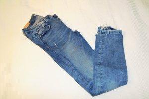 Zara Jeans bleu acier