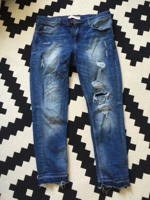 Zara Jeans Used Look boyfriend