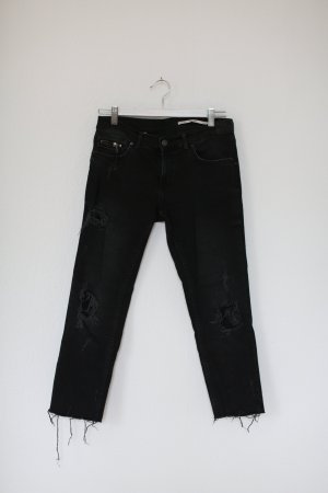 Zara Wortel jeans antraciet