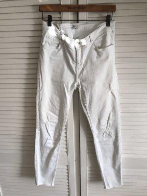 Zara Jeans stretch blanc