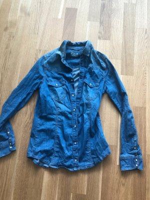 Zara Denim Shirt blue