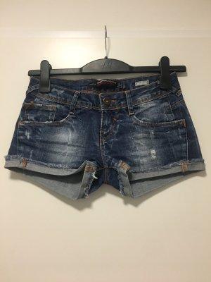 Zara Shorts azul oscuro-azul pálido