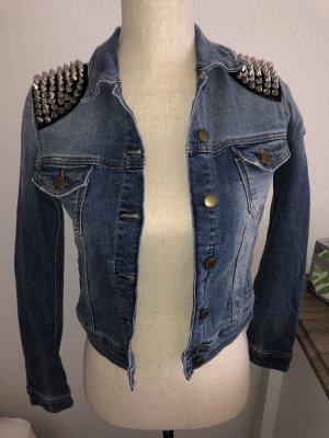 Zara Veste en jean bleu