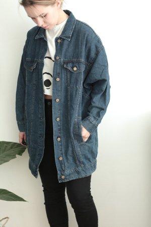 Zara Veste en jean multicolore coton