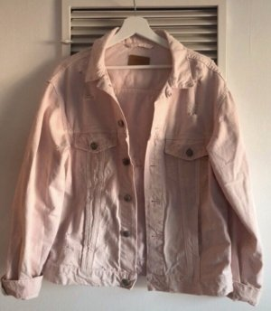 Zara Denim Jacket dusky pink-pink
