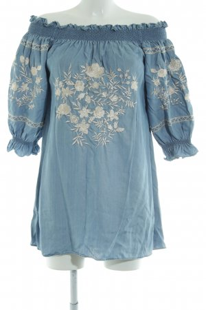 Zara Denim Dress blue casual look