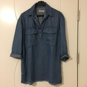 Zara Jeanskleid oversized