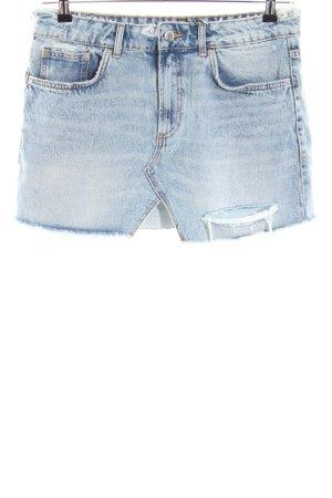 Zara Gonna di jeans blu stile casual