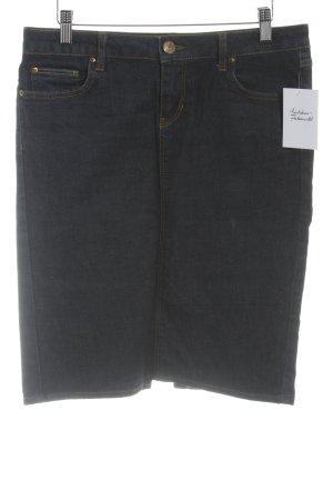 Zara Jupe en jeans bleu foncé style décontracté