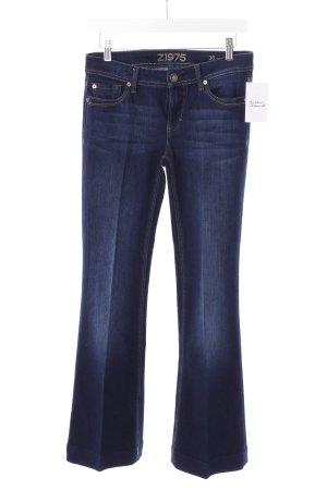 """Zara Jeansschlaghose """"Wide Leg"""" dunkelblau"""