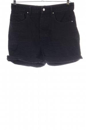 Zara Denim Shorts black casual look
