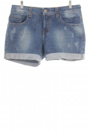 674294d3d7f9f Zara Denim Shorts blue street-fashion look