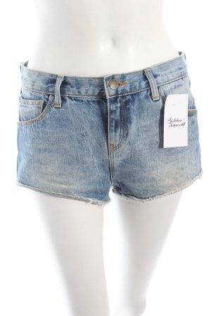 Zara Jeansshorts hellblau Casual-Look