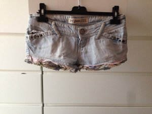 Zara Denim Shorts blue