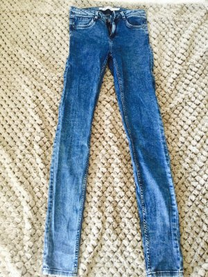 Zara Jeggings in Washed-Optik