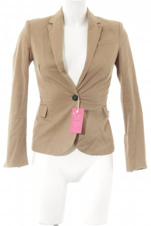 Zara Jerseyblazer beige Business-Look