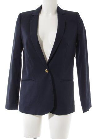 Zara Blazer en jersey bleu élégant
