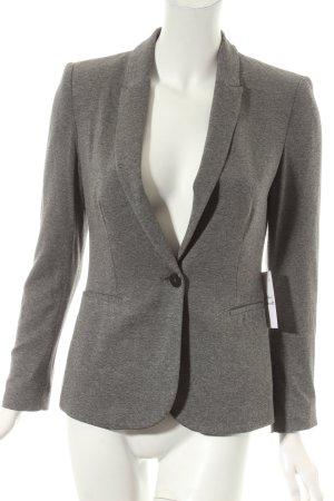 Zara Jerseyblazer grau Casual-Look
