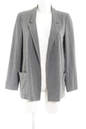 Zara Jerseyblazer grau klassischer Stil