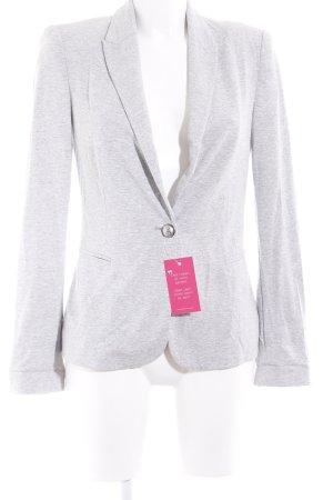 Zara Jersey Blazer gris claro-gris moteado estilo «business»