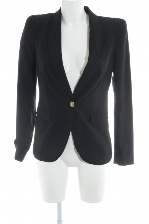 Zara Jersey Blazer negro estilo «business»