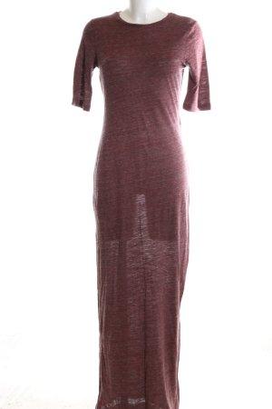 Zara Jerseykleid rot Casual-Look